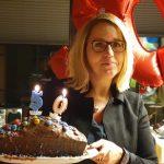 Frau Milz hatte Geburtstag!